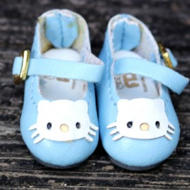 HELLO KITTY BLUE HAND MADE SHOES FOR BJD DOLL LATI YELLOW BLYTHE MEADOWDOLLS TWINKLES LATI YELLOW PULLIP