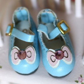 BLUE HAND MADE SHOES FOR BJD DOLL LATI YELLOW BLYTHE MEADOWDOLLS TWINKLES LATI YELLOW PULLIP
