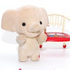 PETIT ELEPHANT JOUET MINIATURE POUPÉE BARBIE STODOLL OB11 LATI YELLOW PUKIFEE BJD BLYTHE PULLIP DOLLHOUSE DIORAMA