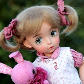 "MOHAIR GINGER 6.7"" DOLL WIG FOR BJD YOSD MUDOLL DOTORIES MEADOWDOLLS CHIBBIS BLEUETTE IPLEHOUSE LITTLE FEE UNOA PATSY ..."