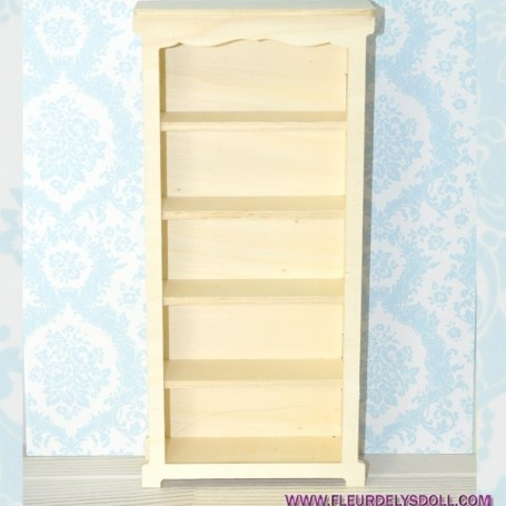BIBLIOTHEQUE ETAGERE MEUBLE BARBIE FASHION ROYALTY BLYTHE PULLIP MOMOKO MONSTER HIGH DOLLHOUSE DIORAMA 1/6