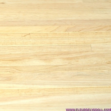 DIY ADHESIVE WOOD FLOOR FLOORING BJD BARBIE FASHION ROYALTY BLYTHE PULLIP MY MEADOWS DOLL DOLLHOUSE DIORAMA