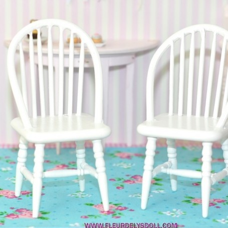 WOOD CHAIR ARMCHAIR FOR DOLLHOUSE, DIORAMA, LATI YELLOW, FURNITURE 1:12