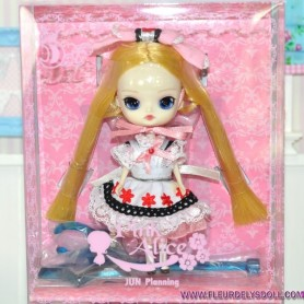 PINK ALICE IN WONDERLAND MINI PULLIP DOLL DAL GROOVE INC 11 CM