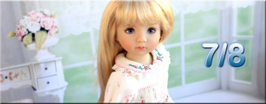 "7/8"" BJD LITTLE DARLING EFFNER DOLLS BJD SD ..."