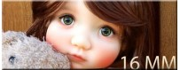YEUX BJD 16 MM : MY MEADOWS MAE SD IPLEHOUSE REBORN DOLL...