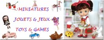 DOLLHOUSE & DIORAMA DOLL MINIATURES TOYS AND GAMES