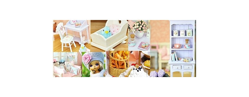 dollhouse home decoration miniature